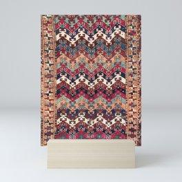 Kagizman Gaziantep Southeast Anatolian Rug Print Mini Art Print