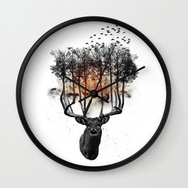 Ashes to ashes. Wall Clock