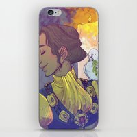 dragon age inquisition iPhone & iPod Skins featuring Josephine Montilyet - Dragon Age Inquisition by Allen Lim