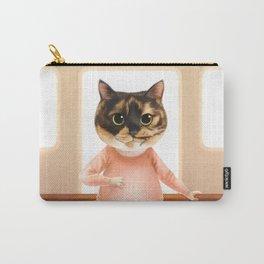 Ballerina Cat Carry-All Pouch