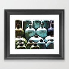 Ceramic Vases Framed Art Print