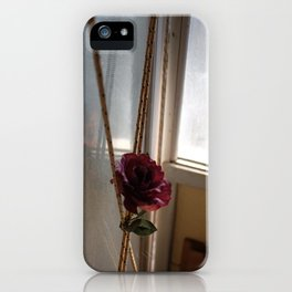 At the stables iPhone Case
