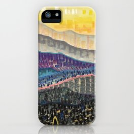 Orange Sunrise iPhone Case