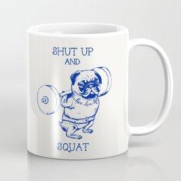 Pug Squat Coffee Mug