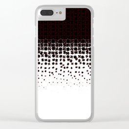 Be at Peace Not in Pieces Clear iPhone Case