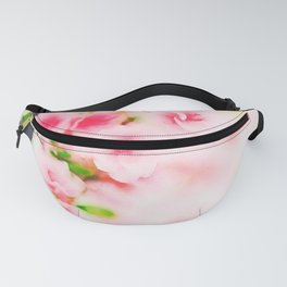 Cherry pink blossoms watercolor painting #3 Fanny Pack