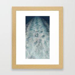 Sea Trails 1 Framed Art Print