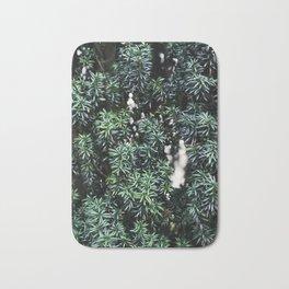 Evergreen tree Bath Mat