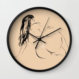 WOMAN #72 Wall Clock