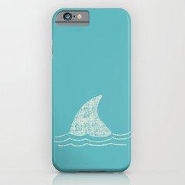 Beach Series Aqua - Shark Animal in the deep See iPhone Case