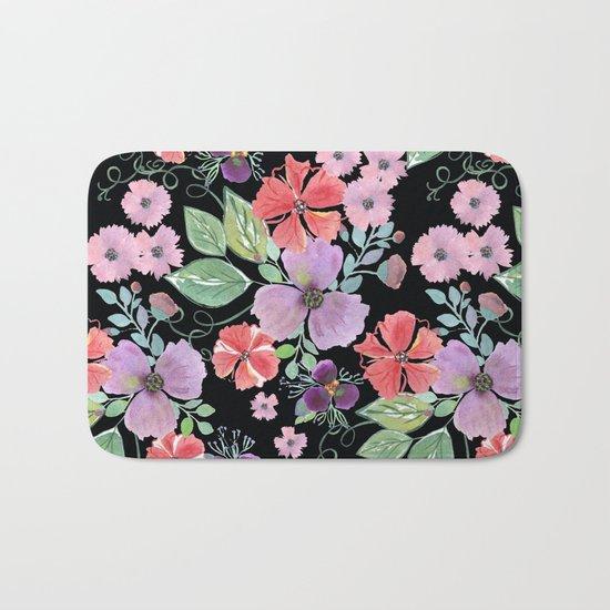 Floral pattern 8 Bath Mat