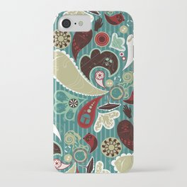 A Long Time Ago In A Paisley Far Far Away iPhone Case