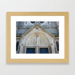 Dublin Pediment Framed Art Print