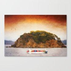 Tropical Cargo Canvas Print