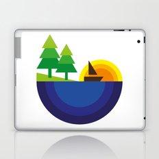 Geometric Landscape Laptop & iPad Skin
