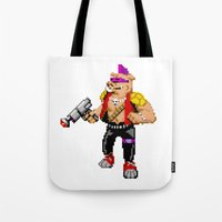 cowboy bebop Tote Bags featuring Bebop by haydiroket