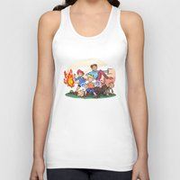 earthbound Tank Tops featuring Mother 3 by GabrielCalderon