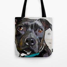 Dog: Staffordshire Bull Terrier Tote Bag