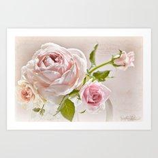 Romantic Recipe  Art Print
