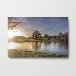 Leeds Castle Upper Lake Metal Print