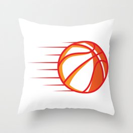 Basketball Basketball Player And Fan Gift Throw Pillow