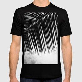 maui paradise palms hawaii monochrome T-shirt