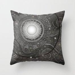Luna Kiss Throw Pillow