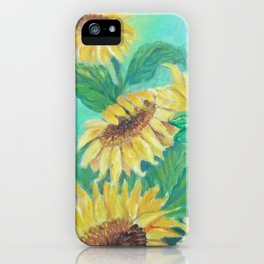 Girasoles iPhone Case