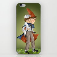 over the garden wall iPhone & iPod Skins featuring over the garden wall by theginga15