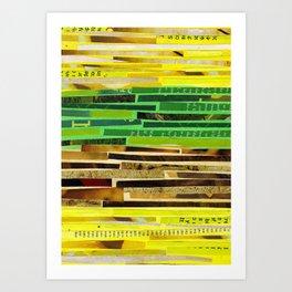 Solar Plexus//Heart Chakra Art Print