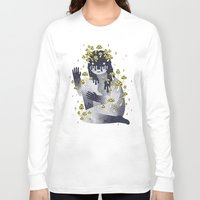 celestial Long Sleeve T-shirts featuring Celestial Decay by LordofMasks