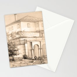 Old house | sketch Stationery Cards