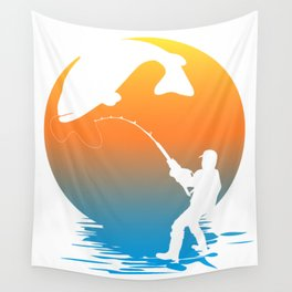 Fishing Wall Tapestry