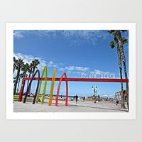 Welcome To Imperial Beach Art Print