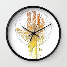 Hand of the Cyborg 2 Wall Clock