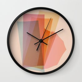 Abstraction_Spectrum Wall Clock