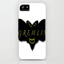 Fear the Gremlin iPhone Case