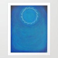 Al Qamar (The Moon) Art Print