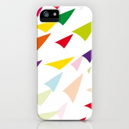 colored arrows iPhone Case
