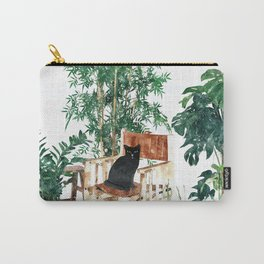 Boho Kitty Carry-All Pouch