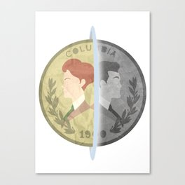 Heads or Tails ? Canvas Print