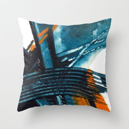 Waiting for the Weekend Mat Throw Pillow