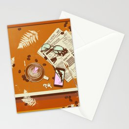 CAFE TABLE Stationery Cards