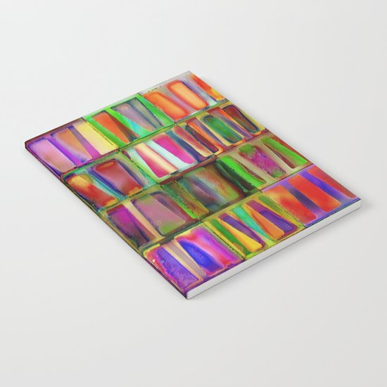 The Colorful World of Books Notebook