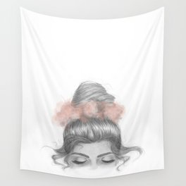 Sinking thoughts Wall Tapestry