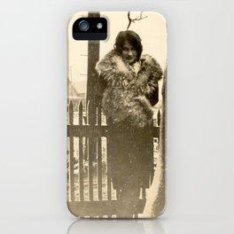 Winter Warm iPhone Case