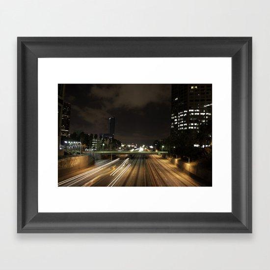 01 - DownTown_LA Framed Art Print