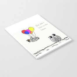 To be a Flying Penguin Notebook