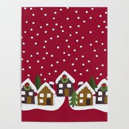 Winter idyll Poster