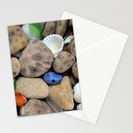 Petoskey Stones lll Stationery Cards